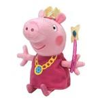 Pelucia Peppa Pig Princesa 50 Cm Ty Dtc