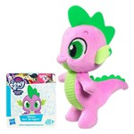 Pelúcia Pequena - 12 Cm - My Little Pony - Friendship Is Magic - Spike Dragon - Hasbro