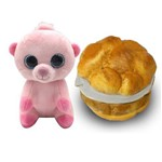 Pelúcia Sweet Pet - Animal Vira Doce - Cream Puff Patty - Toyng
