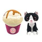 Pelúcia Sweet Pet - Gato Vira Sorvete - Kitty Cup - Toyng