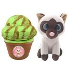 Pelúcia Sweet Pet - Gato Vira Sorvete - Mint Purr-stachio - Toyng