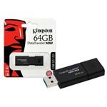 Pen Drive USB 3.0 Kingston Dt100g3/64gb