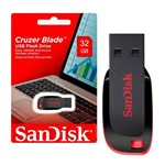 Pen Driver Sandisk Cruzer Blade 32gb