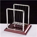 Pêndulo de Newton 18cm Escritório Decoração Jogo de Bolas