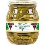 Pepinos em Condimento Suave Hemmer 300g