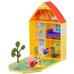 Peppa Pig Casa com Jardim - DTC