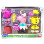 Peppa Pig - Fashion Pig - Fala e Troca de Roupa - 4704 DTC
