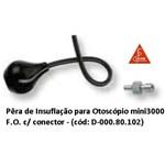 Pêra de Insuflação para Otoscópio Mini3000 F.o. com Conector - Heine - Código: D-000.80.102
