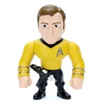 "Personagem Jada Toys 4"" Kirk Star Trek Metals Die Cast"