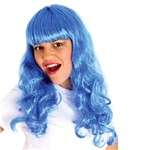 Peruca Katy Azul