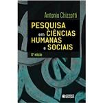 Pesquisa em Ciencias Humanas e Sociais