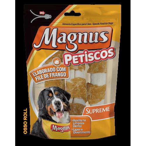 Petisco Magnus Supreme Osso Roll para Cães 2 Unidades