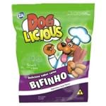 Petisco Total Dog Licious Bifinho Sabor Carne e Bacon 65g 65g