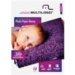Photo Paper A4 200g PE0011 10 Folhas Multilaser