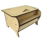 Piano Porta Bijuteria em MDF