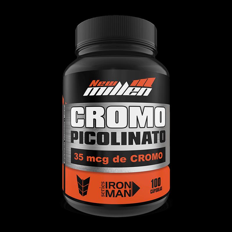 Picolinato de Cromo (100caps) New Millen