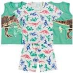 Pijama Dinossauro 3 Peças 2