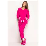 Pijama Feminino Longo - Raposas Gg