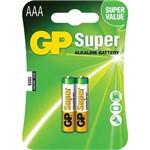 Pilha Aaa Super Alcalina 1.5v 24a-c2 Gp