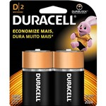 Pilha Alcalina Grande D C/ 2unid. - Duracell