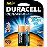 Pilha Alcalina Ultra AA C/ 2 Unid. - Duracell