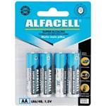 Pilha Alfacell Super Alcalina