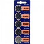 Pilha Botão 3v Lítio Cr2032 Sony