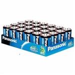 Pilha Comum Zinco Carvão Média C Panasonic Bandeja com 24 Unidades