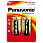 Pilha 2d Alkaline Panasonic