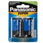 Pilha D Panasonic Grande - Panasonic