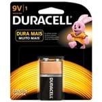 Pilha Duracell Bateria 9V 1 um