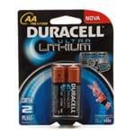 Pilha Duracell Ultra AA Lithium com 2 Unidades