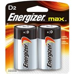 Pilha Energizer Max D - Energizer