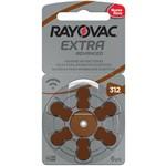 Pilha para Aparelho Auditivo 312 - Rayovac - Caixa com 60 Pilhas