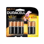 Pilhas Alcalinas Duracell AA 1.5V - 12 Und