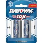 Pilhas Alcalinas Media C 12 Blisters X 2 Unid. Rayovac