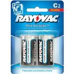 Pilhas Alcalinas Tipo C2 (2 Unid) - Rayovac
