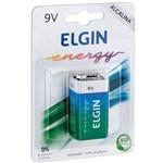Pilhas/baterias 9v Alcalina 10blistersx1unid. Elgin