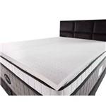 Pillow Top de Látex Espuma King 100% Natural 4cm