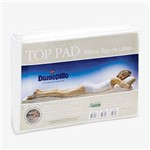 Pillow Top Látex Natural Top Pad Casal 88x138x03 Cm Dunlopillo