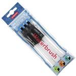 Pincel com Reservatório para Aquarela Kit com 3 Unidades Ref.2301975 Derwent