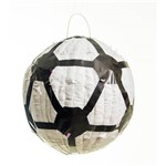 Pinhata para Festa Infantil Bola de Futebol 25cm Aniversário