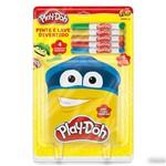 Pinte e Lave Divertido - 4 Desenhos - Play-doh - Fun