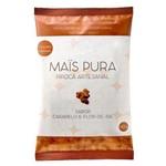 Pipoca Artesanal Sabor Caramelo e Flor de Sal Mais Pura 150g