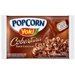 Pipoca para Microondas Pop Corn Cobertura Chocolate 160g - Yoki