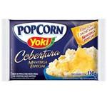 Pipoca para Microondas Pop Corn Cobertura Manteiga 130g - Yoki