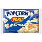 Pipoca para Microondas Pop Corn Manteiga 100g - Yoki