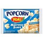 Pipoca para Microondas Pop Corn Manteiga Suave 100g - Yoki