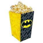 Pipoqueira Americana Batman Geek C/ 08 Unidades