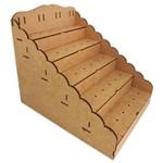 Piruliteiro Desmontável Escada para 36 Pirulitos Passa Fitas - MDF a Laser